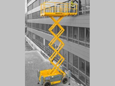 Haulotte Compact 12 DX a noleggio presso Giffi Noleggi srl