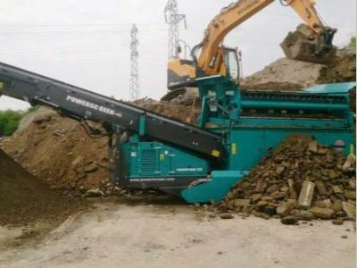 Powerscreen Powertrak 750 a noleggio presso Impianti Industriali Srl