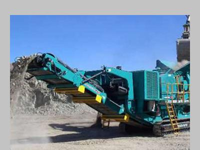 Powerscreen Metrotrak Foto 1