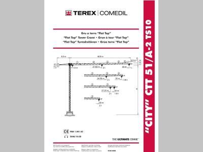 Terex CTT51/A-2 a noleggio presso Pernicini srl