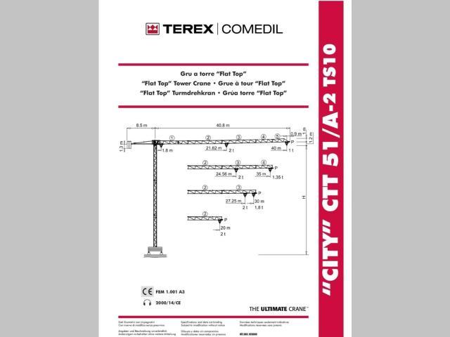 Terex CTT51/A-2 Foto 1
