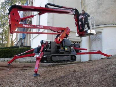 Platform Basket SPIDER 15.75 a noleggio presso Giffi Noleggi srl